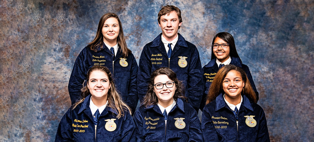 MD FFA 2018-19 State Officer Team