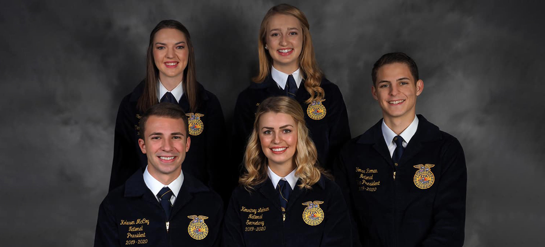 2020-21 National FFA Officer Team