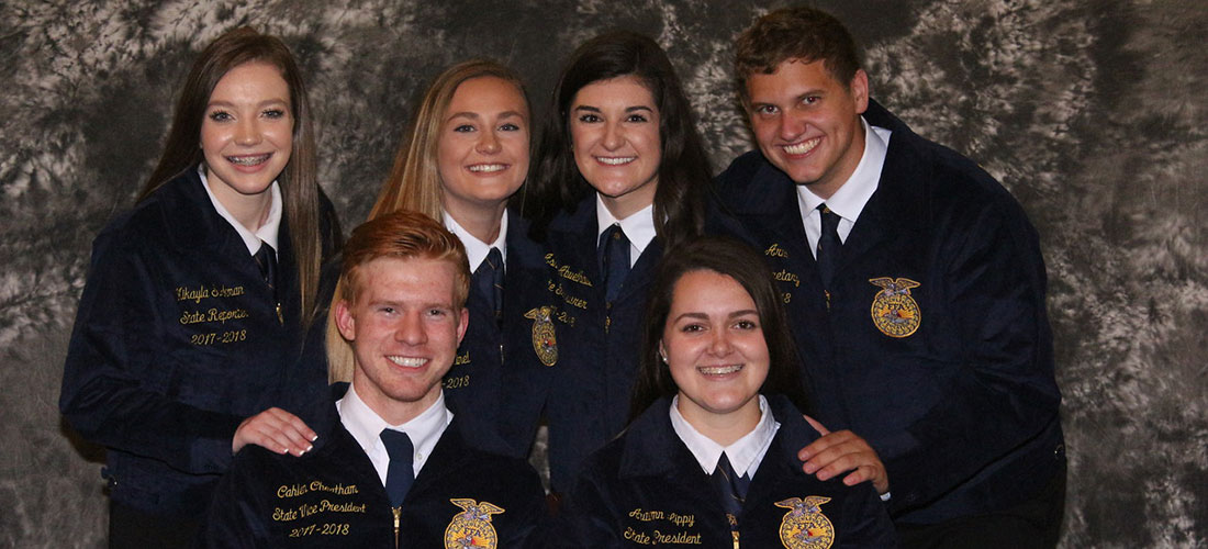2016-17 State Officer Team